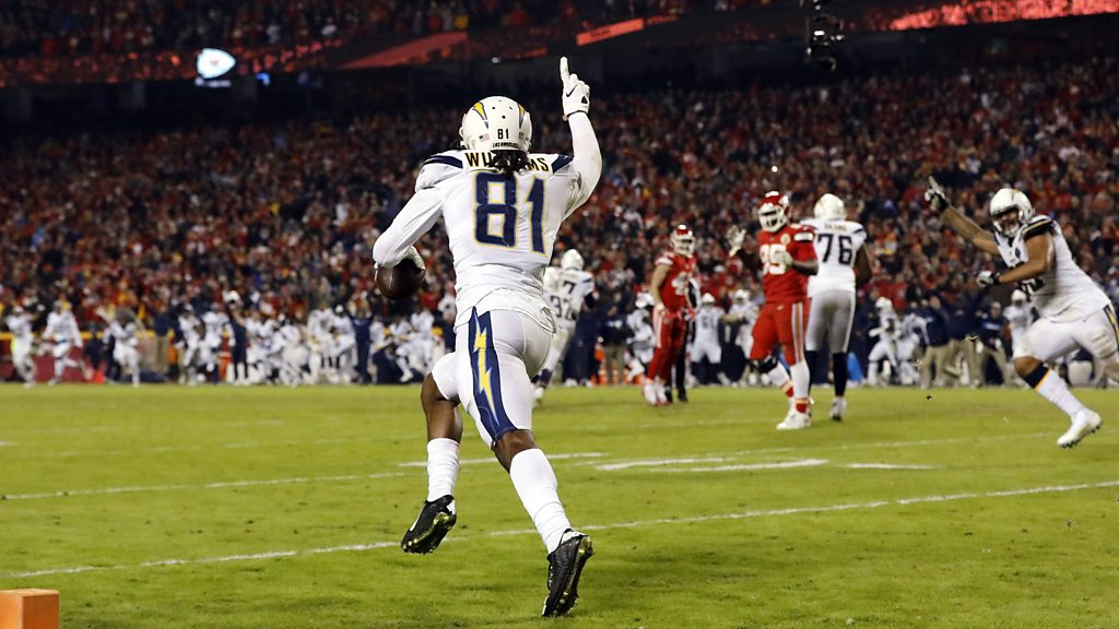 Watch: Chargers produce late comeback to stun Chiefs