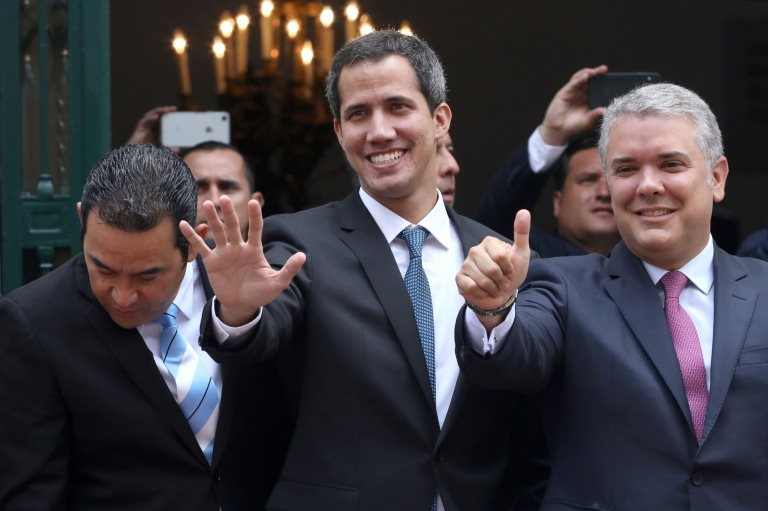 Guaidó y Duque.