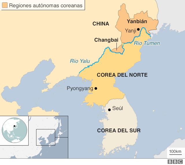 Mapa. NO USAR / BBC