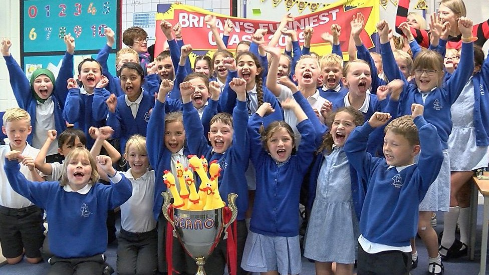 Beano readers vote Sussex school pupils funniest in the UK