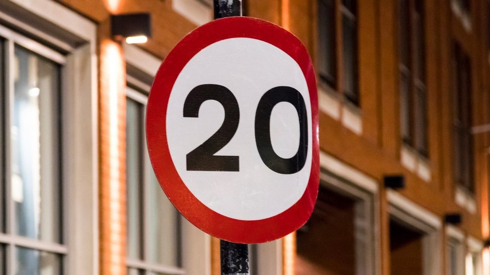 Wales 'lagging behind' rest of UK on 20mph streets