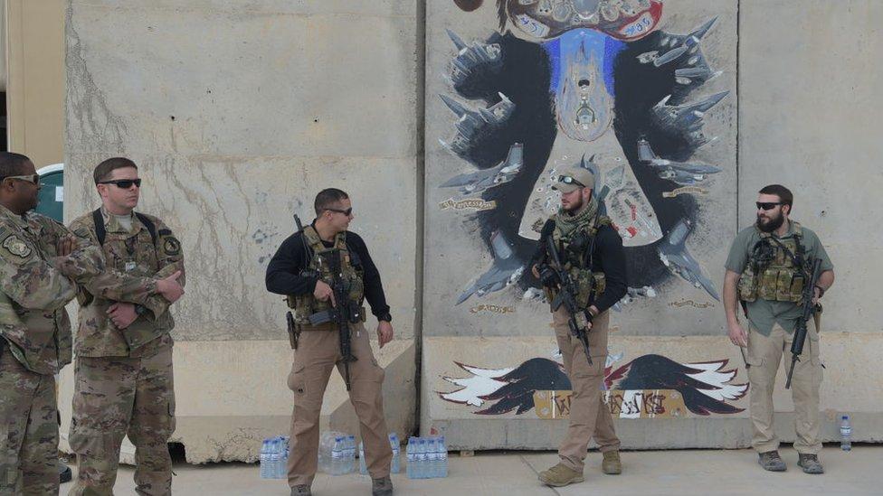 Fuerzas estadounideneses en Afganistán.