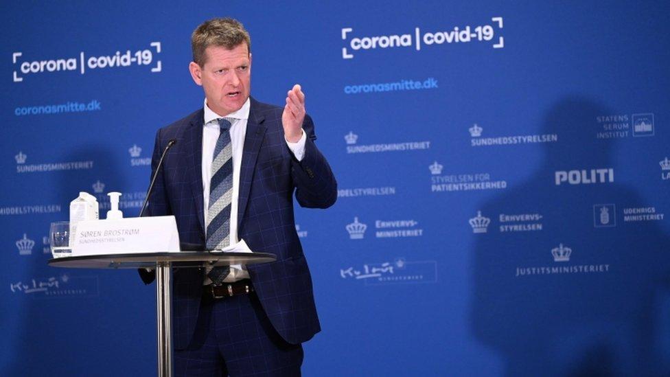 Soeren Brostroem, director de la Agencia Danesa de la Salud.