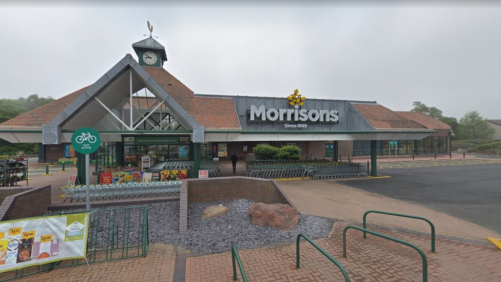 Morrisons in the New Swanston area of Edinburgh