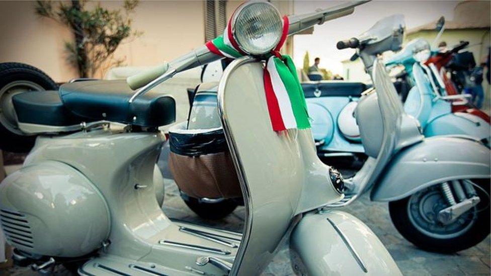 Lambreta na Itália