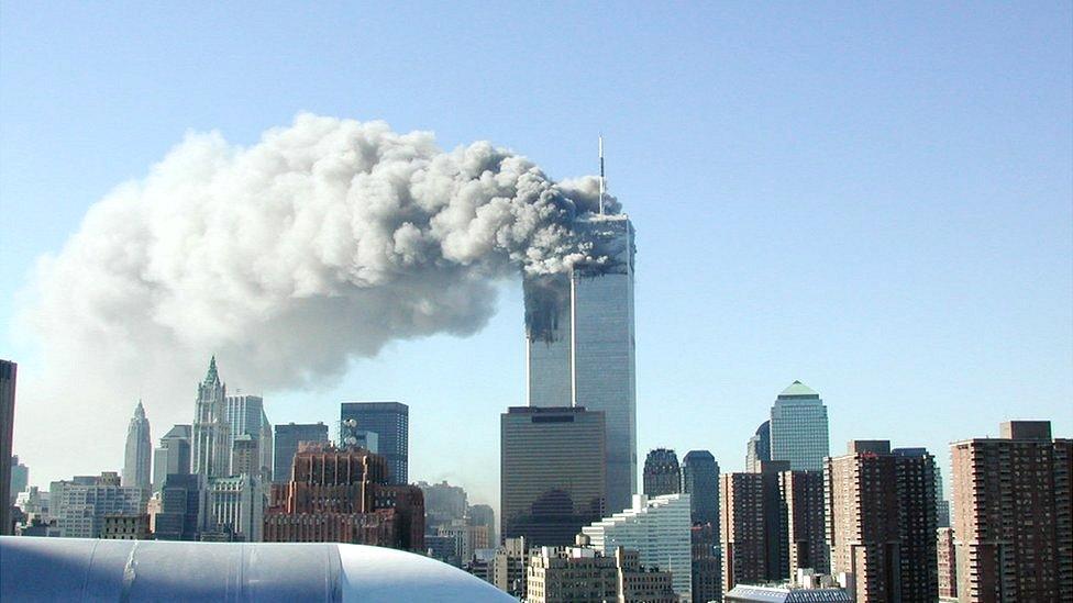 Ataques contra las torres gemelas.