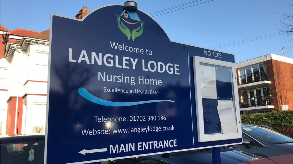 Langley Lodge Nursing Home, Westcliff