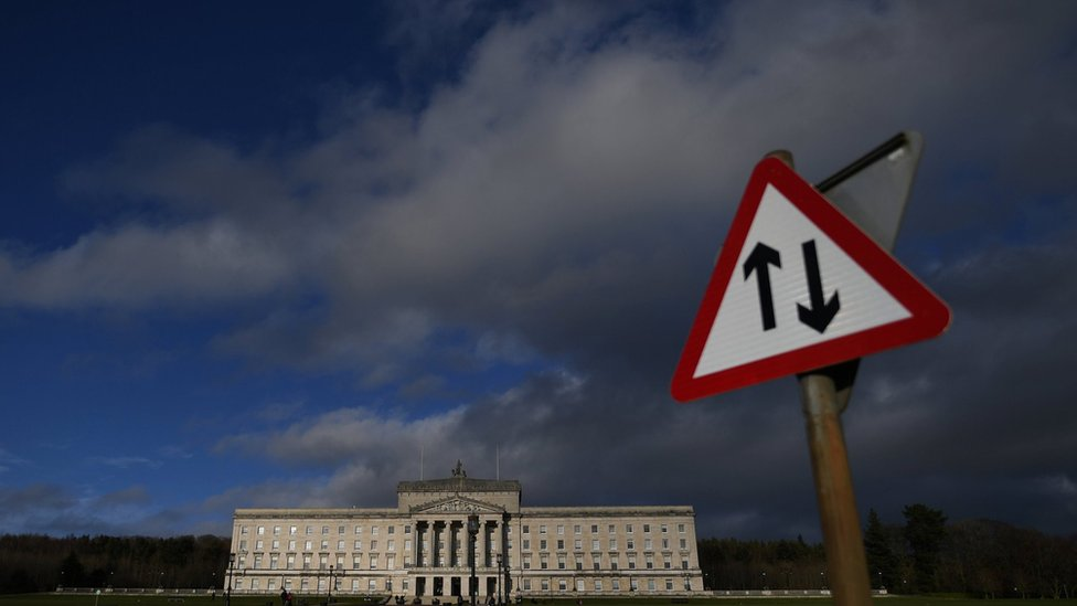 Parliament Buildings at Stormont in Belfast
