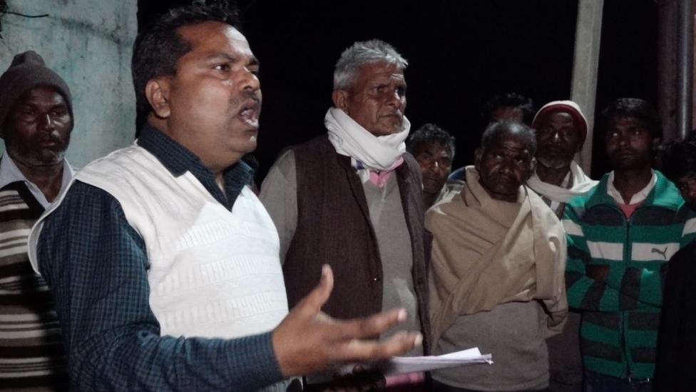 दलित कार्यकर्ता आरपी सिंह