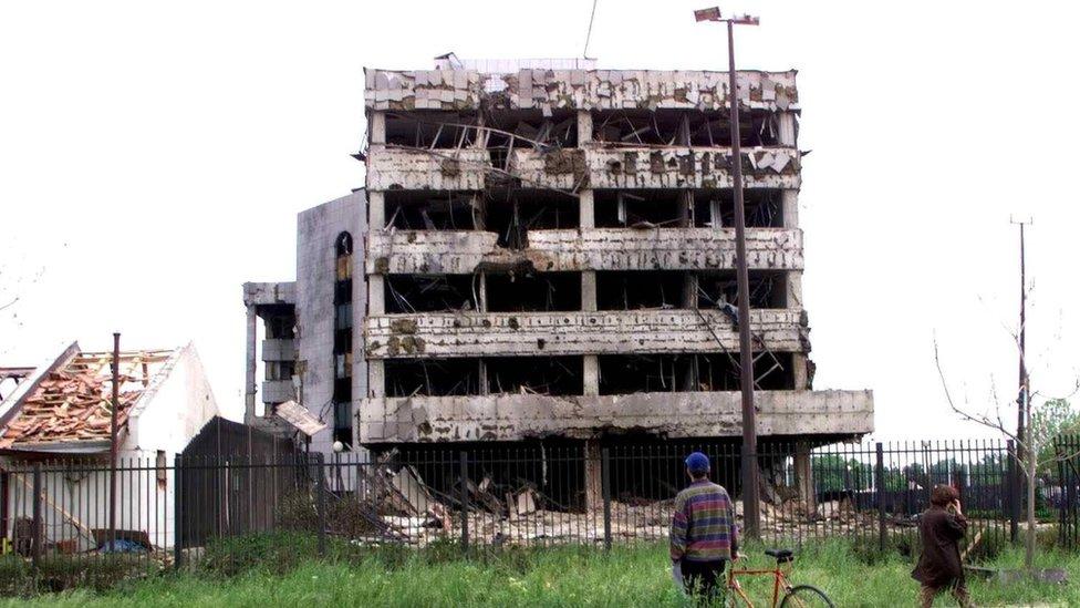 kineska ambasada uništena 1999 beograd