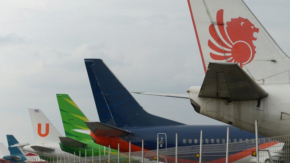 Lion Air y otras aerolíneas