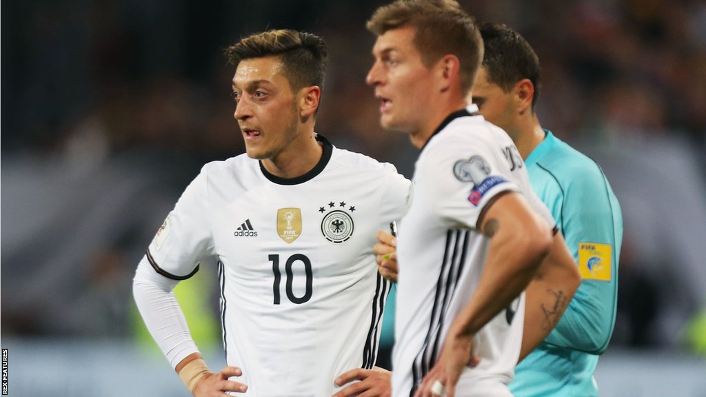Mesut Ozil racism claims 'nonsense', says ex-Germany team-mate Toni Kroos