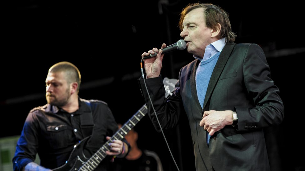 The Fall at Glastonbury in 2016