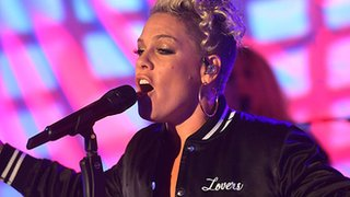 BBC - Newsbeat - Pink calls for ban on 'homophobia, racism, sexism - all the isms'