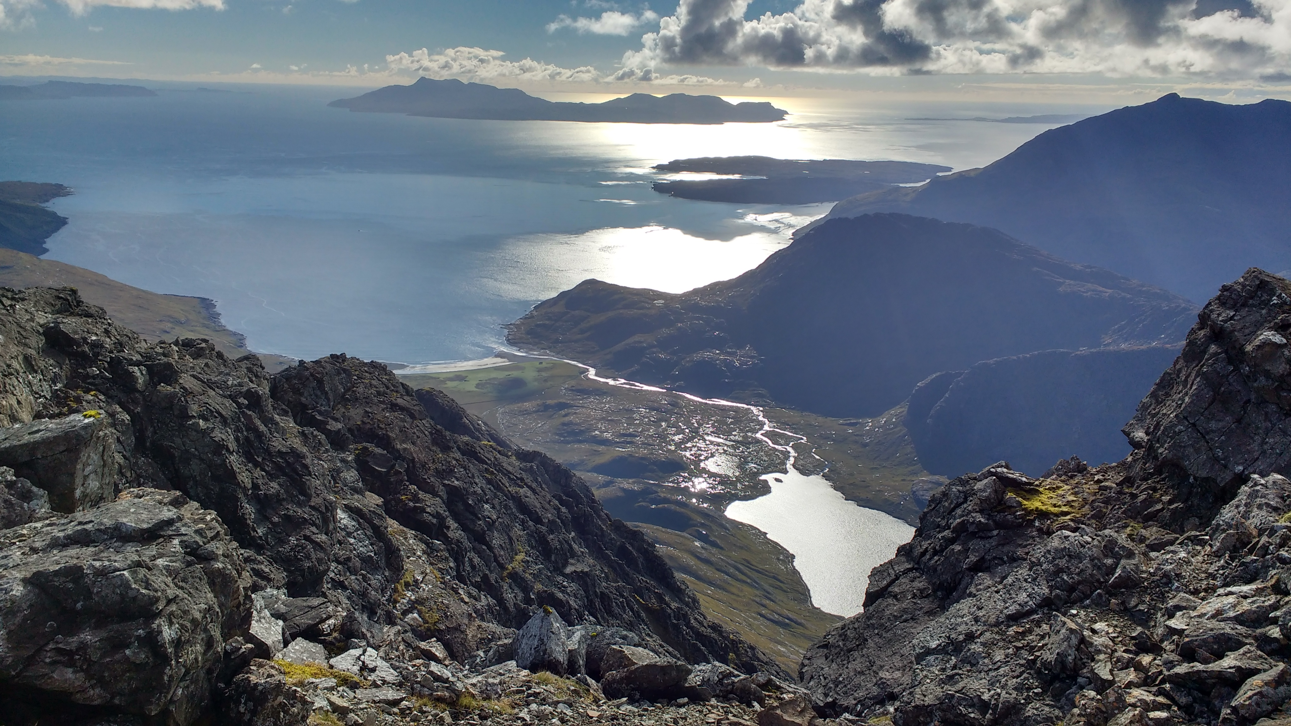 View from Blaven