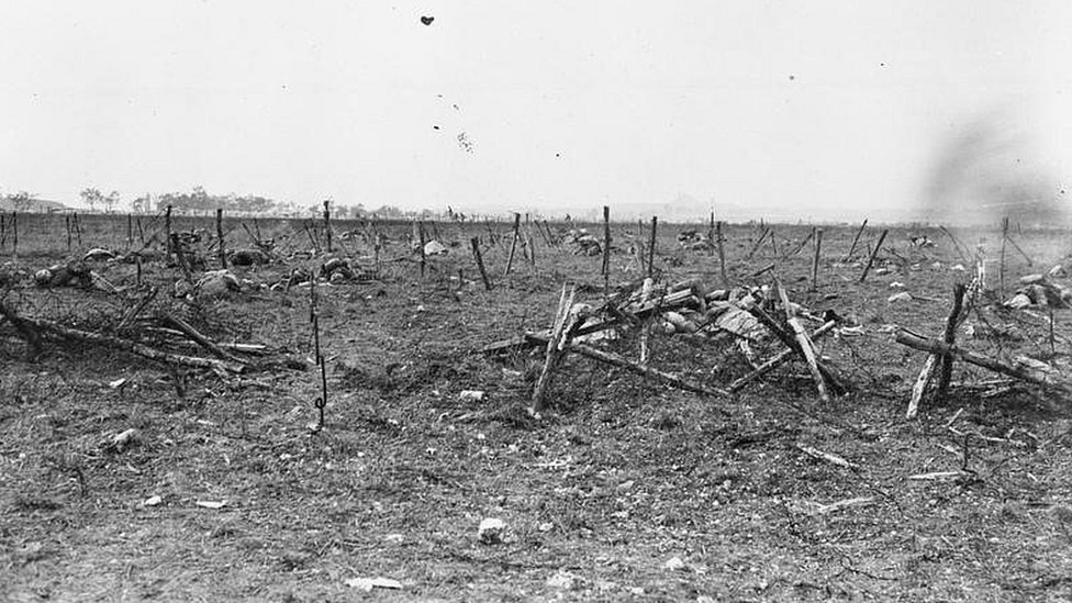 Wire at Loos