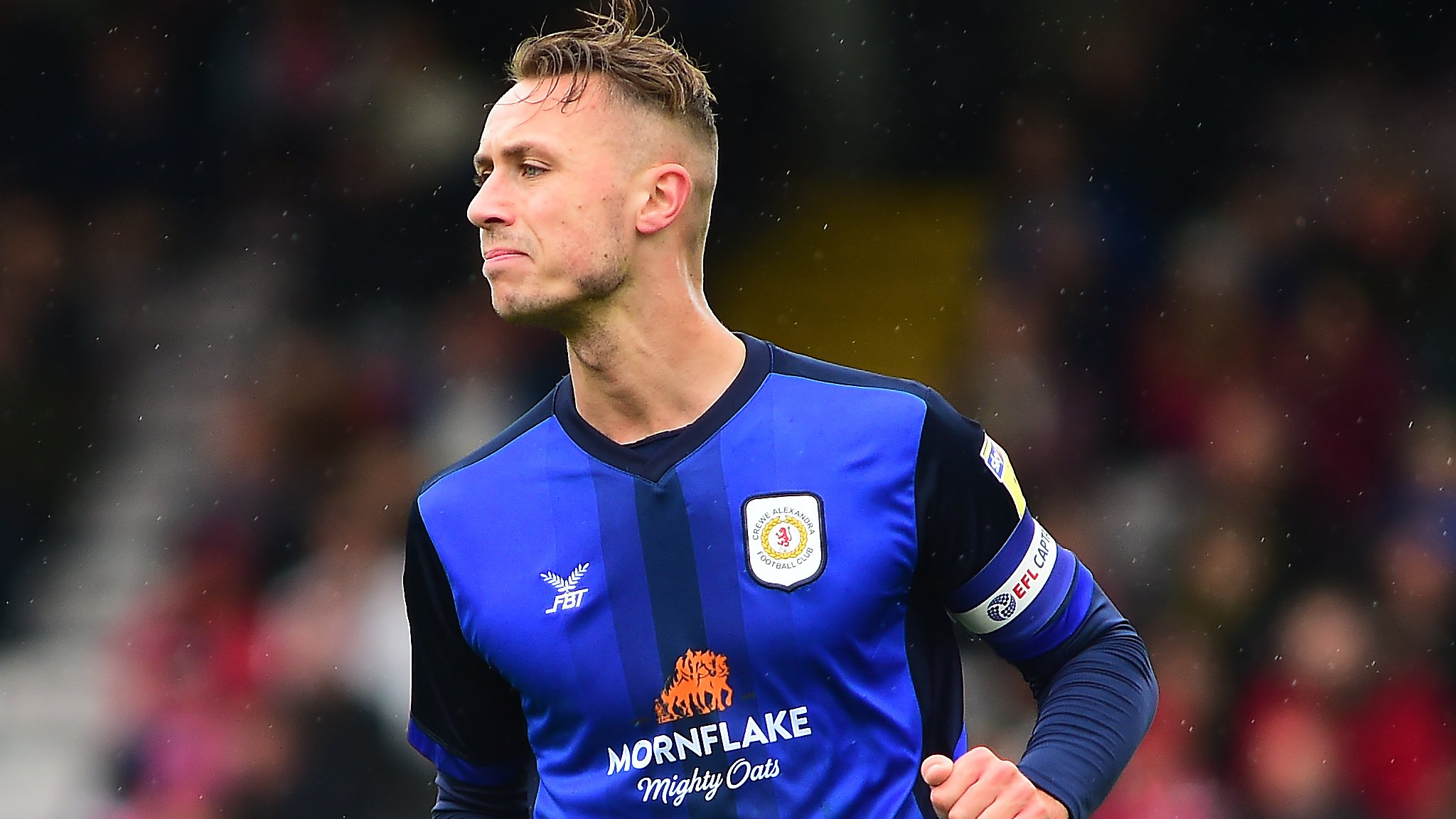 George Ray: Tranmere Rovers sign Crewe Alexandra captain on a two-year deal