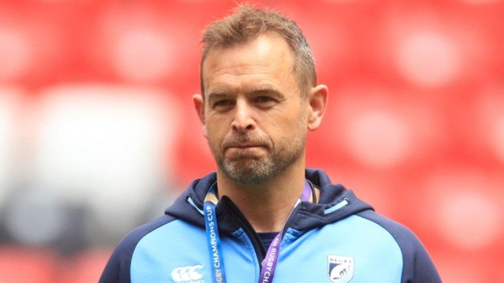 Wasps coach Wilson to work for Scotland