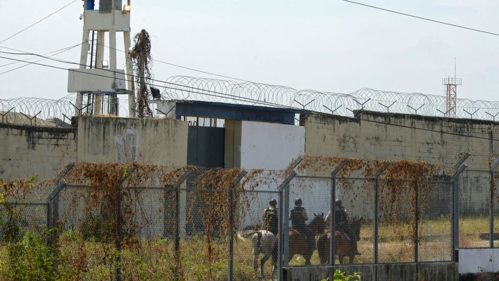police are in control of the prison