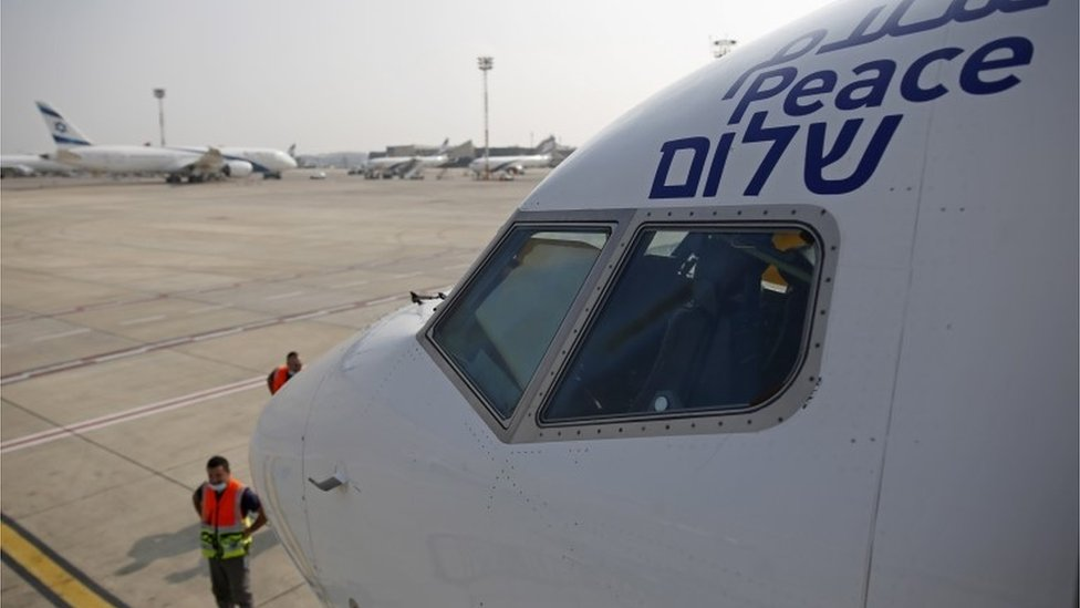 Israel and UAE in historic direct flight following peace deal thumbnail