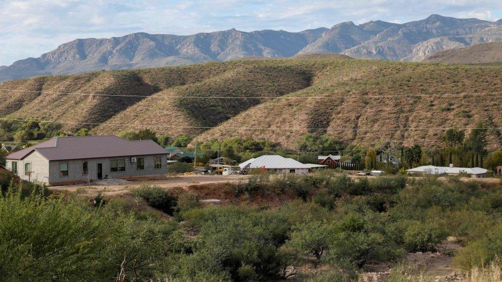 El rancho de los LeBarón
