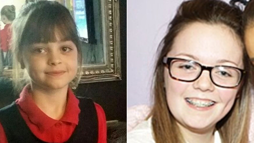 Saffie Roussos and Georgina Callendar