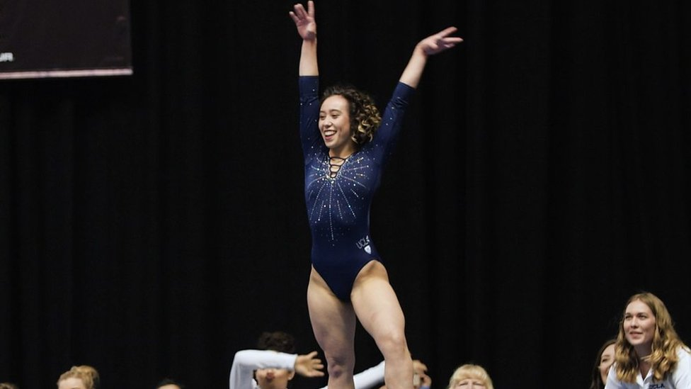 Katelyn Ohashi: My 'crazy' week as the 'perfect 10' gymnast