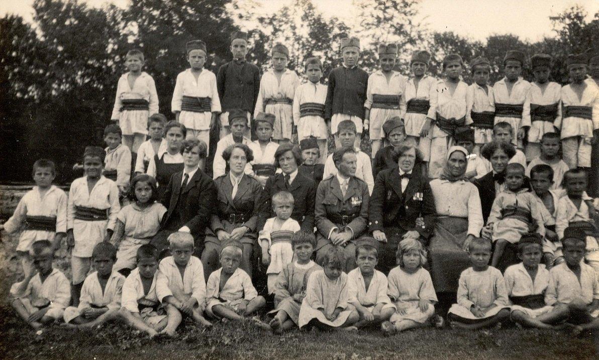 Haverfield orphanage at Bajina Bashta, Serbia (c. 1919)