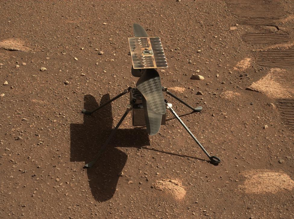 El helicóptero de 1,8 kg se considera una buena muestra del potencial de la tecnología aérea en la ligera atmósfera marciana.
