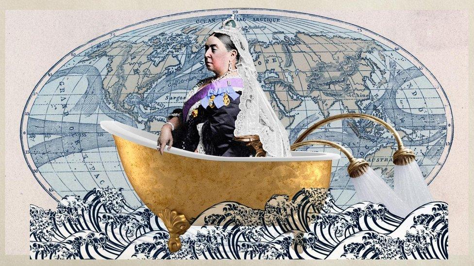 """Imagen sobre el """"imperialismo sanitario""""."""