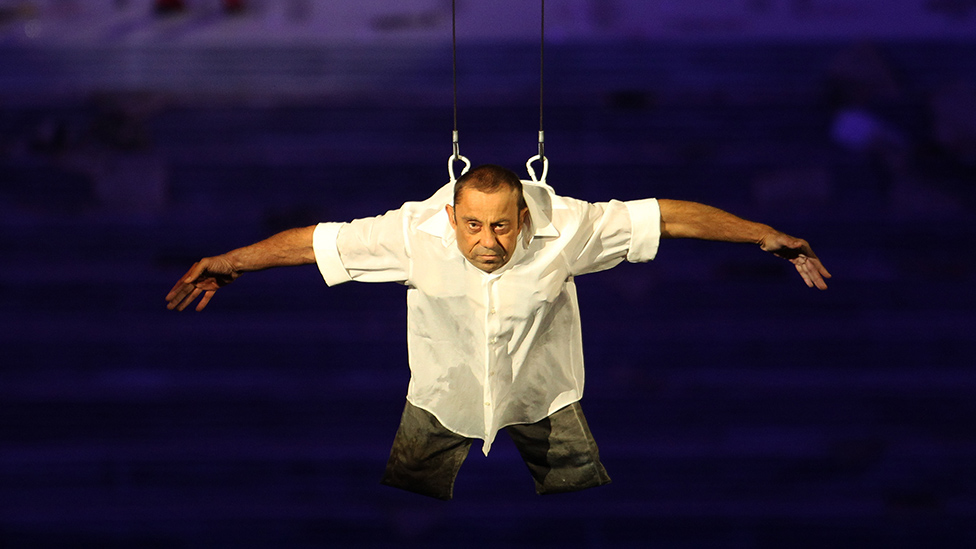 Paralympics 2012 opening ceremony dancer Dave Toole dies thumbnail