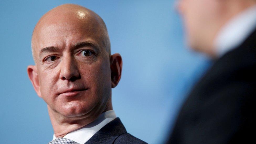 Jeff Bezos en 2017