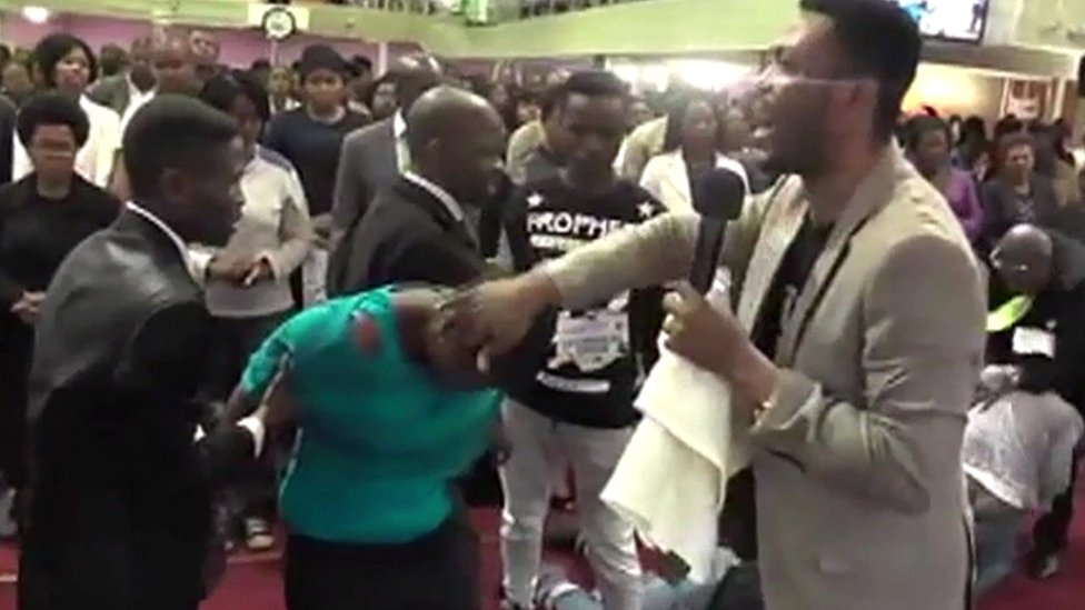 Deliverance ceremony in South Africa