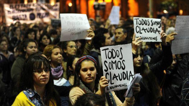Marcha de Ni Una Menos en 2015