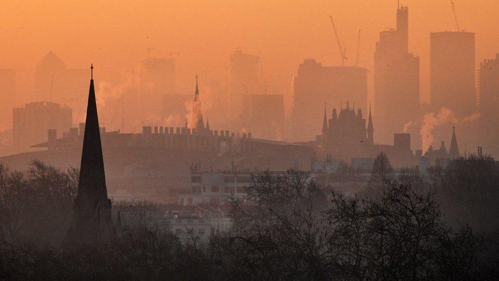 مدينة ملوثة الهواء