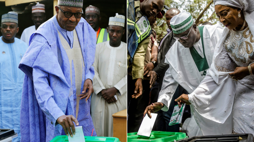 Nigeria election 2019: Atiku Abubakar challenges Muhammadu Buhari - BBC News