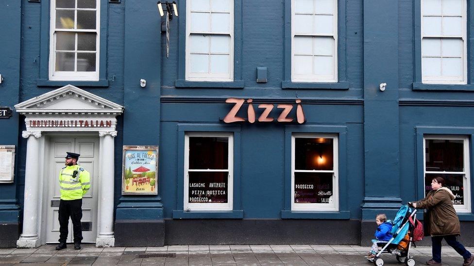 Zizzi restaurant closed