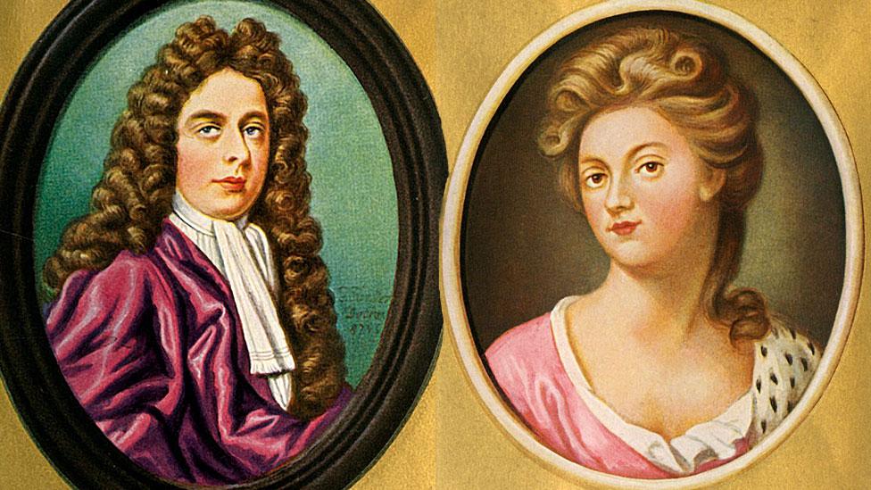 El duque y la duquesa de Marlborough