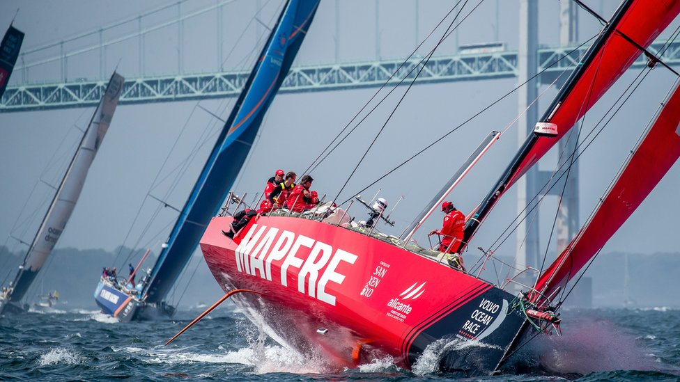 Volvo Ocean Race: Cardiff prepares for prestigious round-the-world race