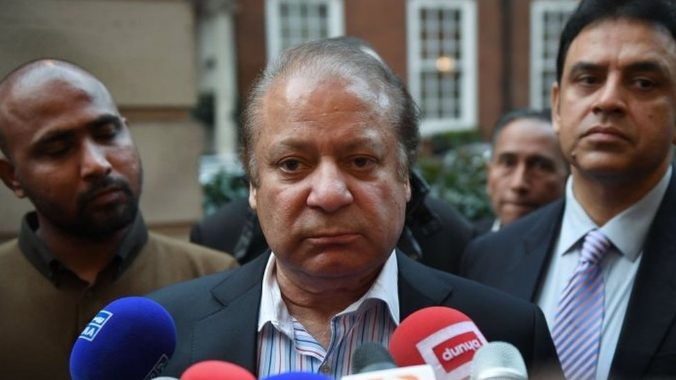 Nawaz Sharif. Photo: 1 November 2017