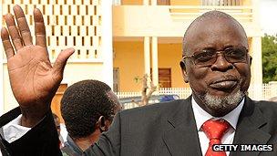 Guinea-Bissau's President Malam Bacai Sanha
