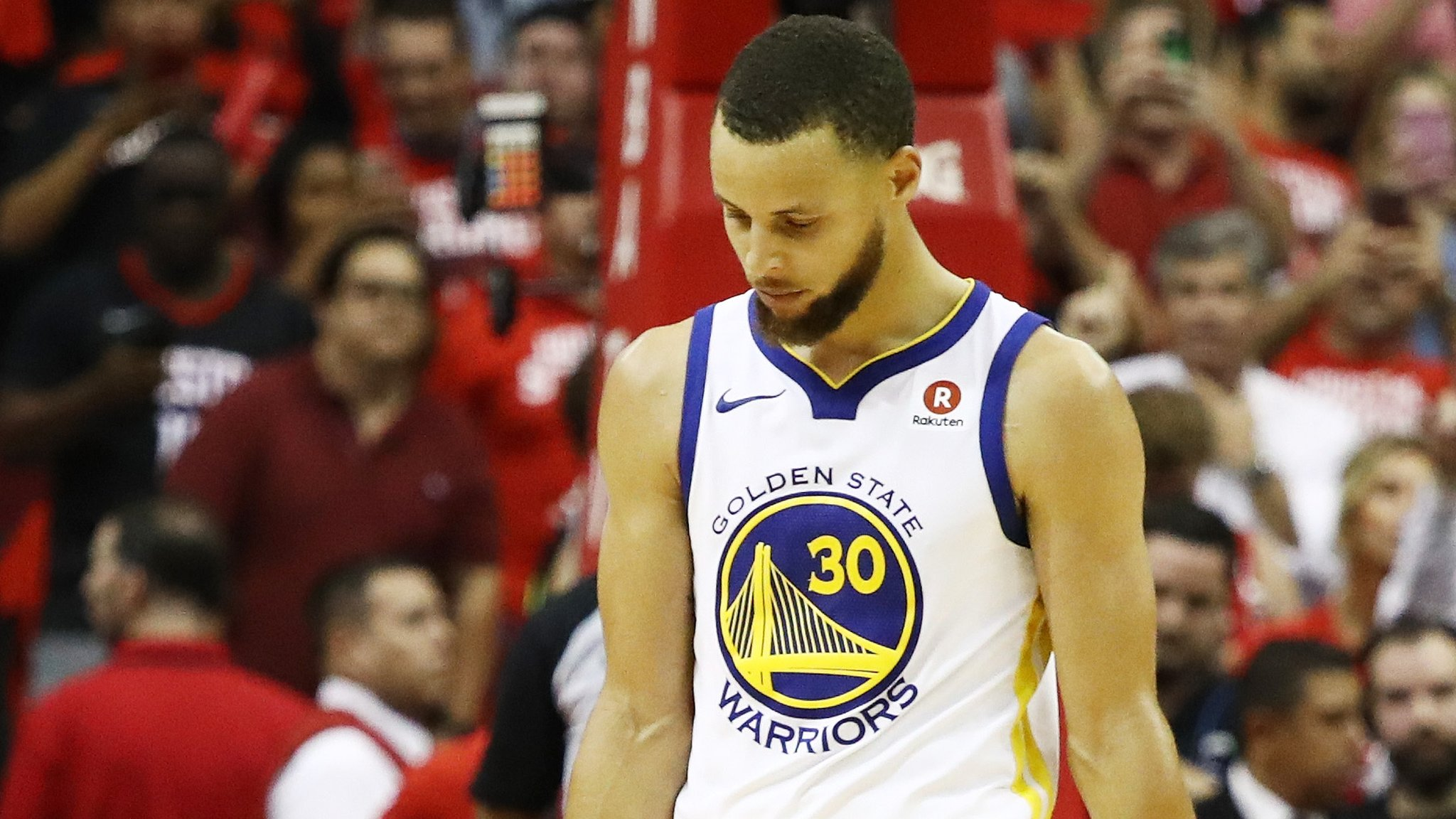 NBA champions Golden State one game from play-off elimination