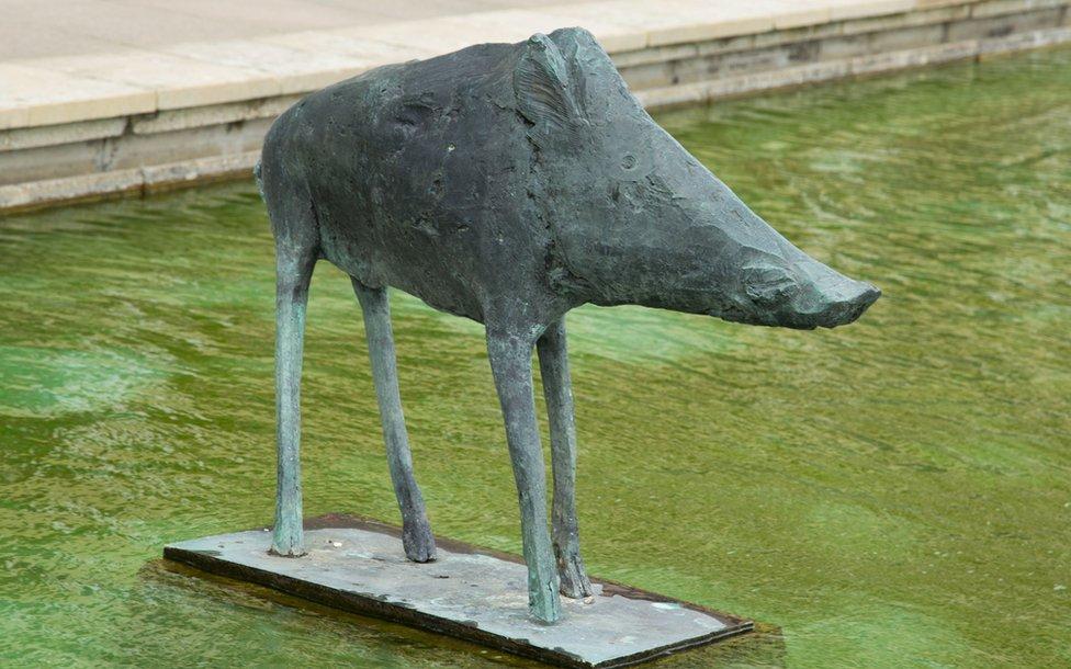Boar by Dame Elisabeth Frink