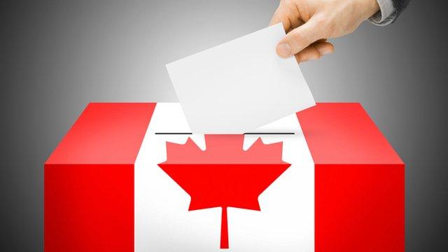 Canadian ballot box