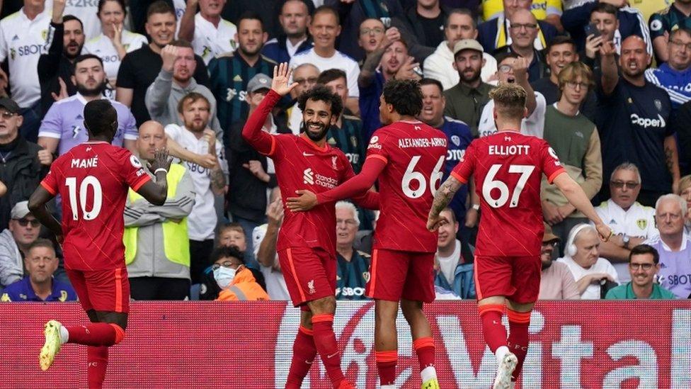 يعتبر صلاح ثاني أكثر اللاعبين الأفارقة تسجيلا للأهداف في الدوري الانجليزي بعد دروغبا