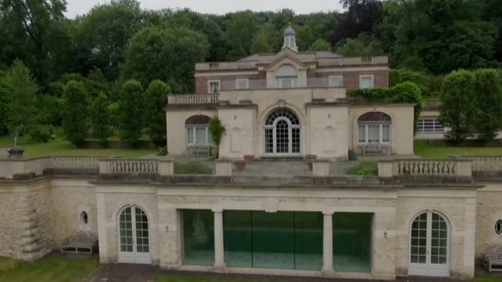 Bulmer's mansion in Bruton
