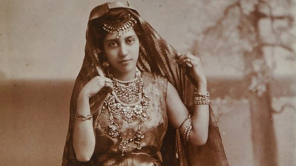 Princess Sophia Duleep Singh - descendant of Sikh royalty, goddaughter of Queen Victoria and pioneering suffragette.