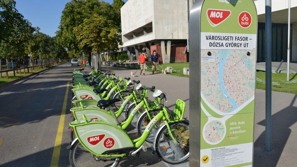 Gradski bicikli u Budimpešti