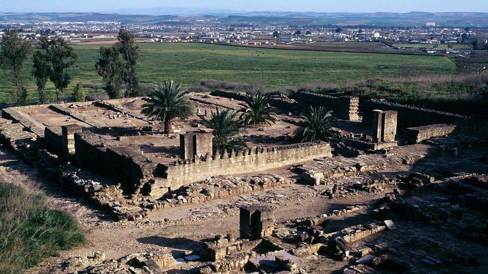 Ruinas de la Medina Azahara.