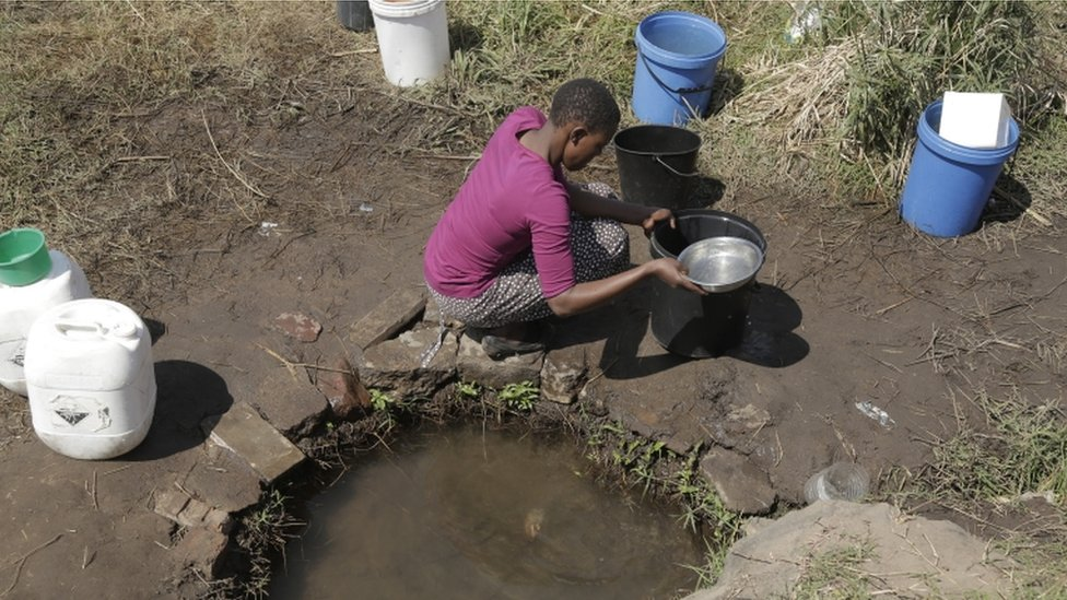 津巴布韋乾旱